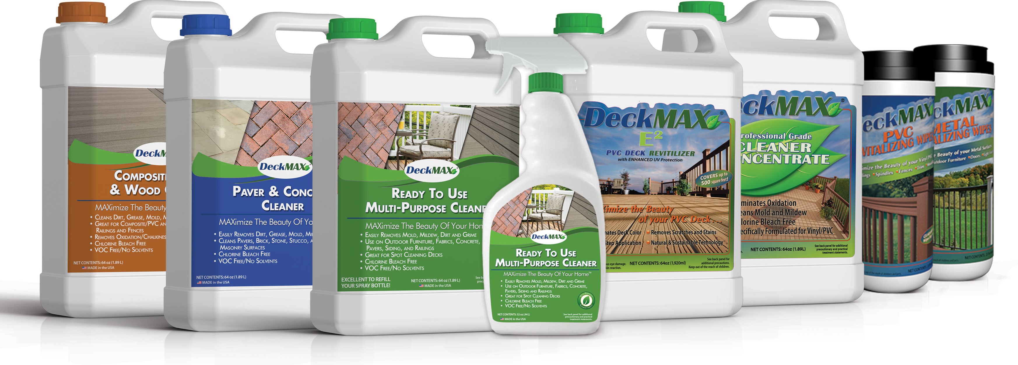 DeckMAX Family of Products