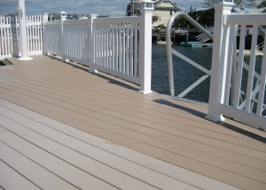 Clean weathered deck