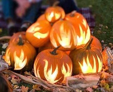 Family Activities on the Deck: Pumpkins