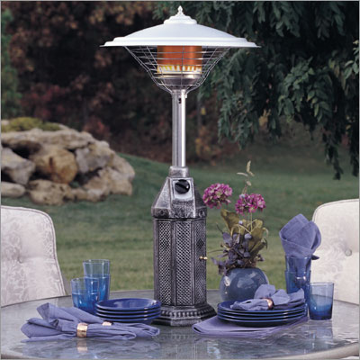 Outdoor heaters use your deck as it gets colder - Stufe a metano ventilate ...