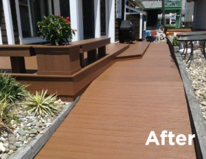 DeckMAX Deck Cleaning Services after