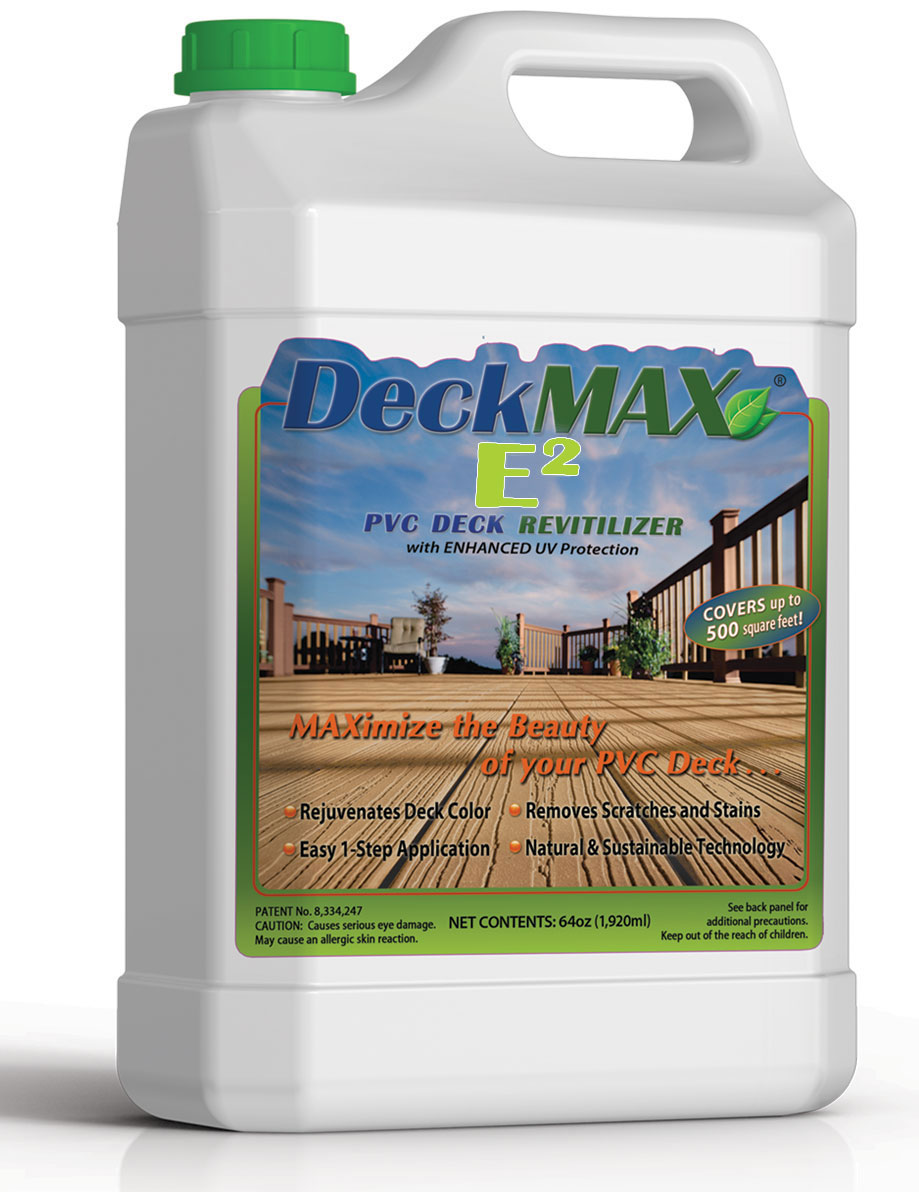 deck restoration DeckMAX® E2 PVC Deck REVITILIZER