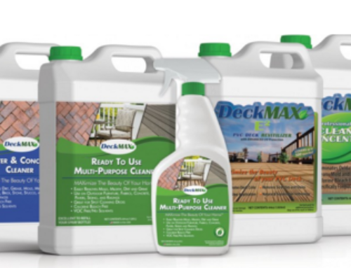 Outdoor Surface Area Cleaning Needs found in DeckMAX Survey Results
