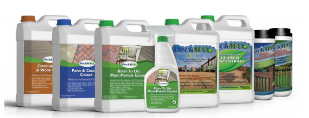 DeckMAX Outdoor Surface Area Cleaning Products