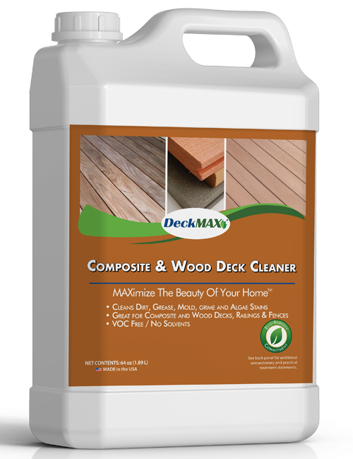 composite & wood deck cleaner | DeckMax®
