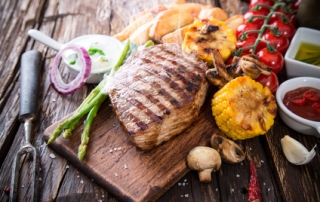 Grilled Steak and Vegetables - Grilling Tips for BBQ