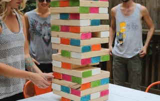 Giant Lawn Jenga Outdoor Yard Games