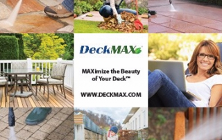 DeckMAX professional deck cleaning solutions