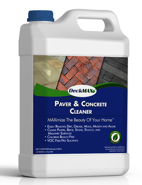Paver & Concrete Cleaner | DeckMax®