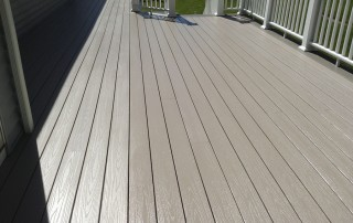 DeckMAX professional deck cleaning after