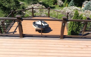 DeckMAX professional deck cleaning before and after