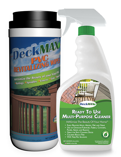 spray-and-pvc-wipes_deck cleaning | DeckMax®