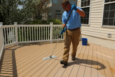 professional deck cleaning services | DeckMax®