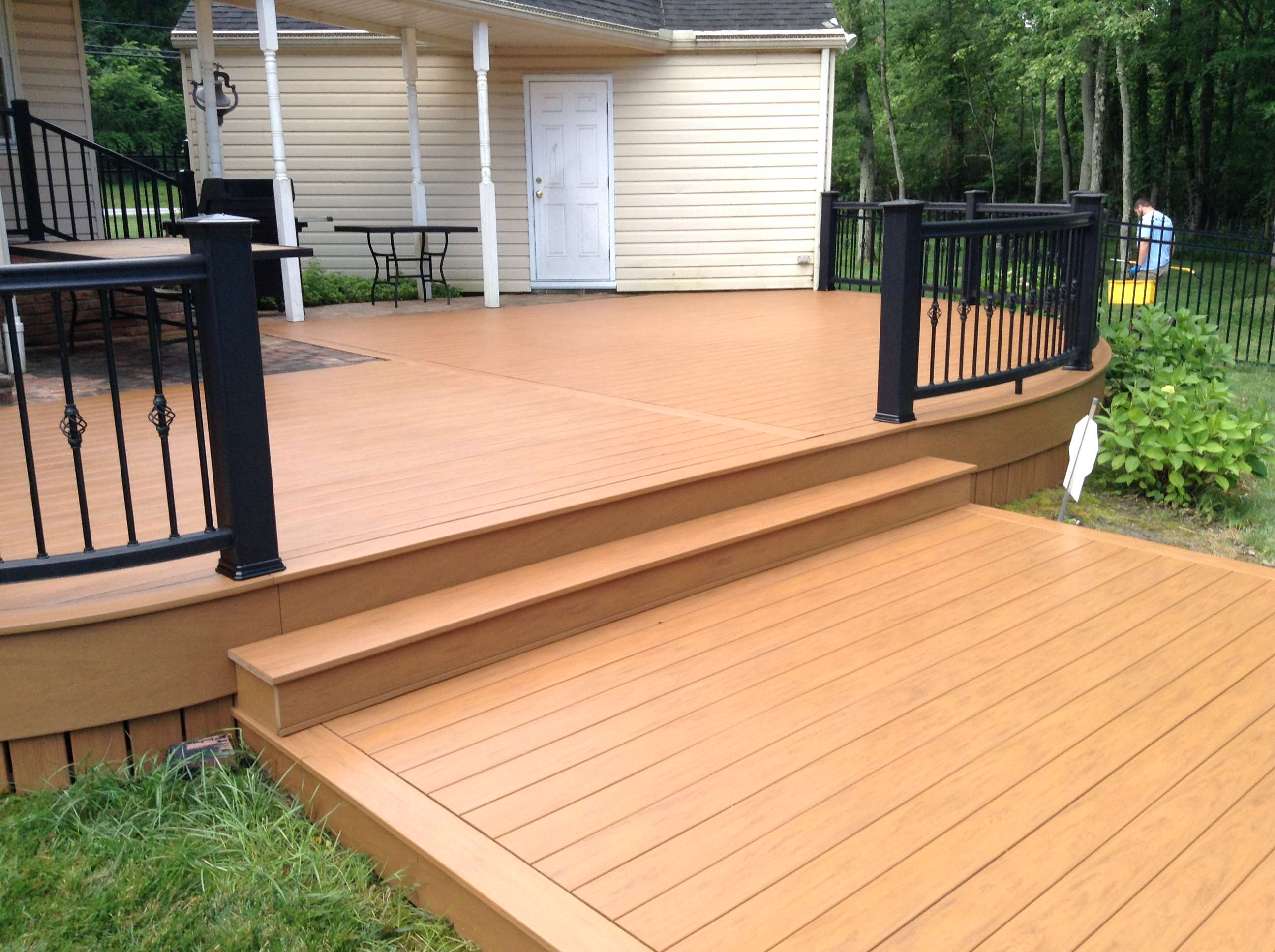 after DeckMax Cleaning service