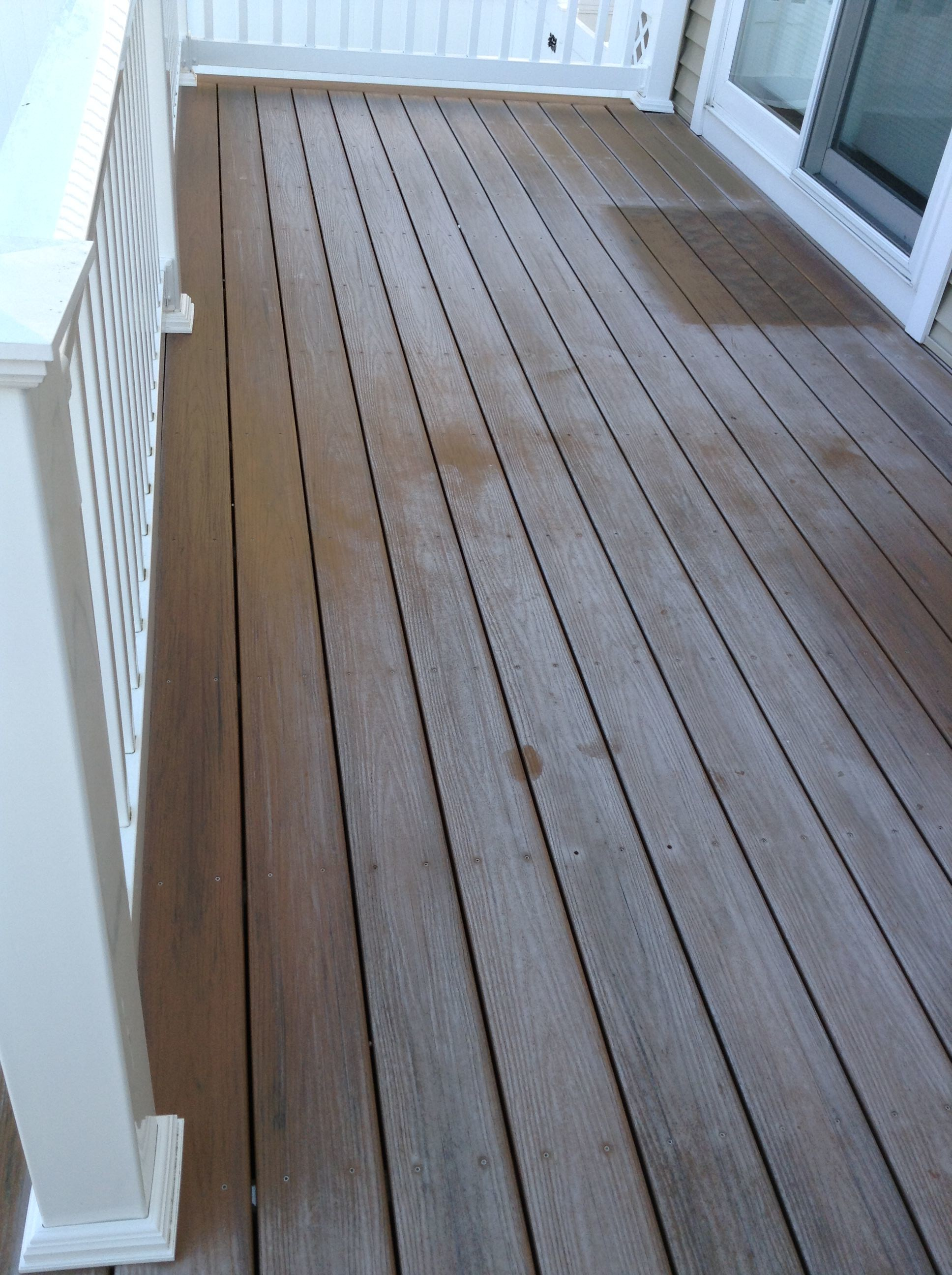 pvc deck restoration before | DeckMax®