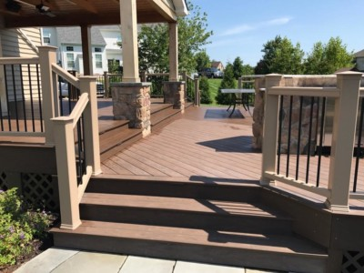 DeckMAX® E2 PVC Deck REVITILIZER Before | DeckMax®