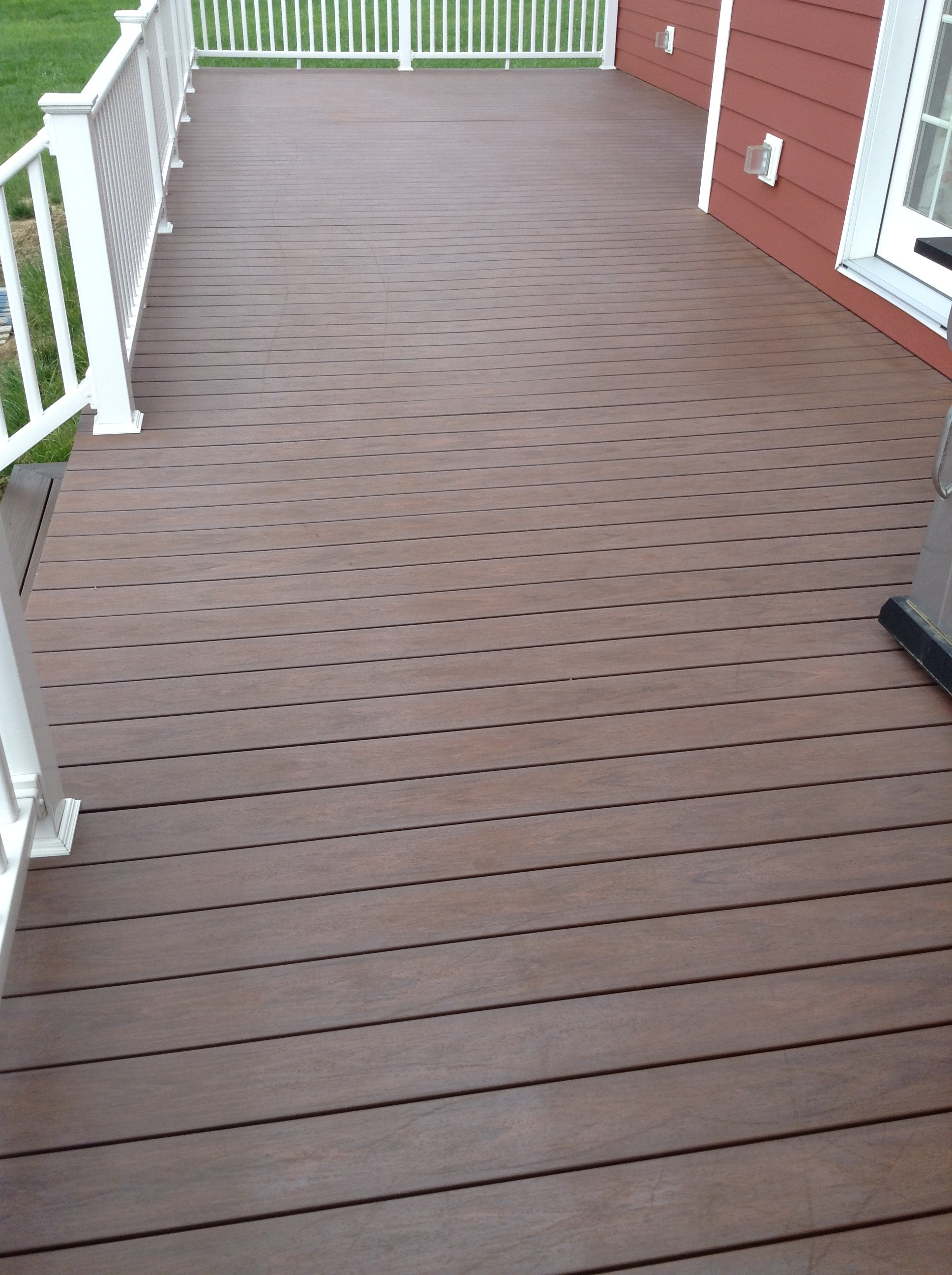 DeckMAX® E2 PVC Deck REVITILIZER Before