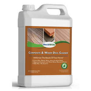 Composite & Wood Deck Cleaner (Half Gallon)
