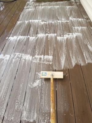 Deck brush